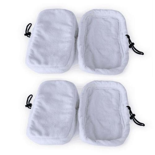 4 Pack 9in1 Washable Microfibre Steam Mop Cloth Pads Fit Mor