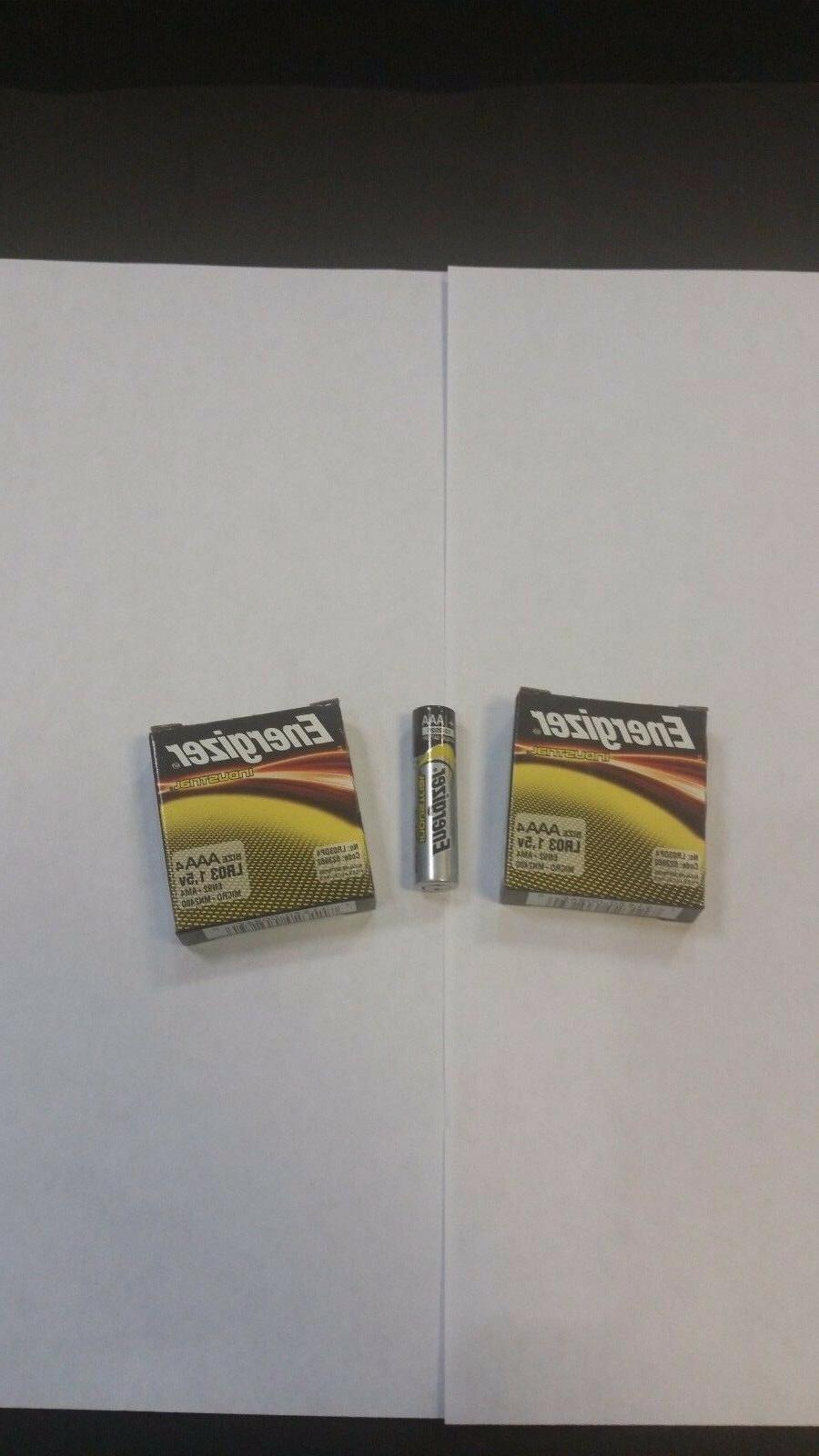 8 aaa industrial alkaline batteries 2 x