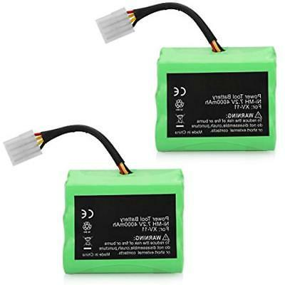 ANTRobut Central Vacuum Installation Parts 2 Pack 4000mAh 7.