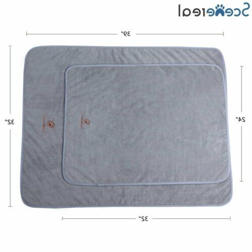 Dog Towels Pack of 2 Sizes Absorbent for Cleaning, Grooming