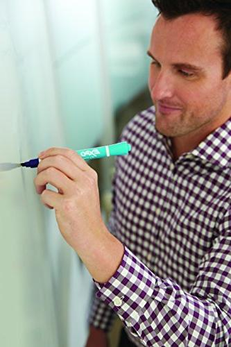 EXPO Erase 2-in-1 Markers, 6-Count