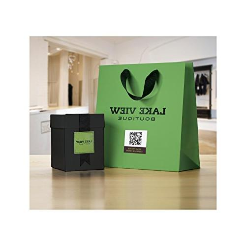 """Avery Peel White Square Labels, 2"""" x per Pack, of 5"""