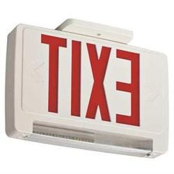 ACUITY LITHONIA ECBR LED M6 Exit Sign w/Emergency Lights,3W,