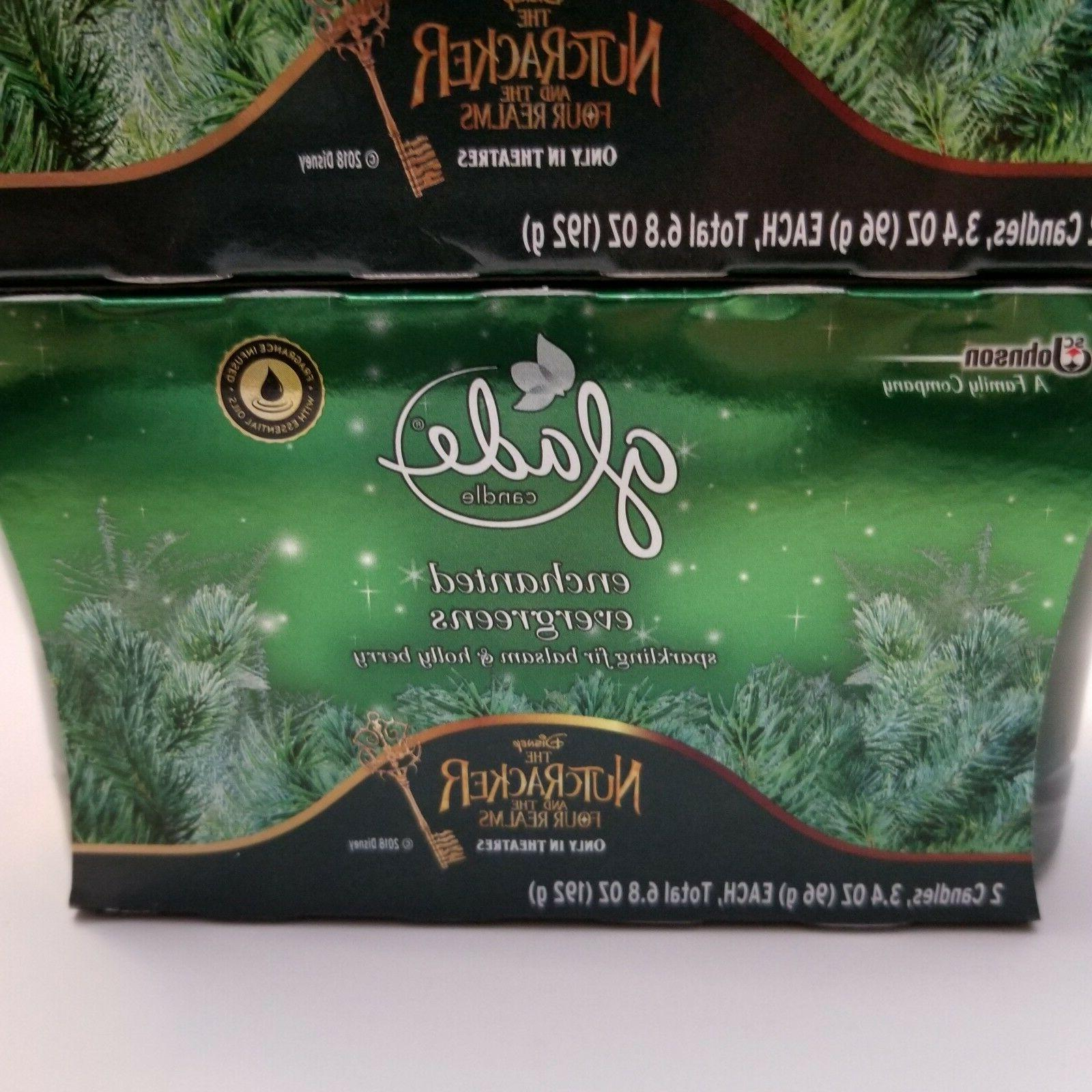 Glade Twin Lot Of 2 Fir Holly Limited Edition