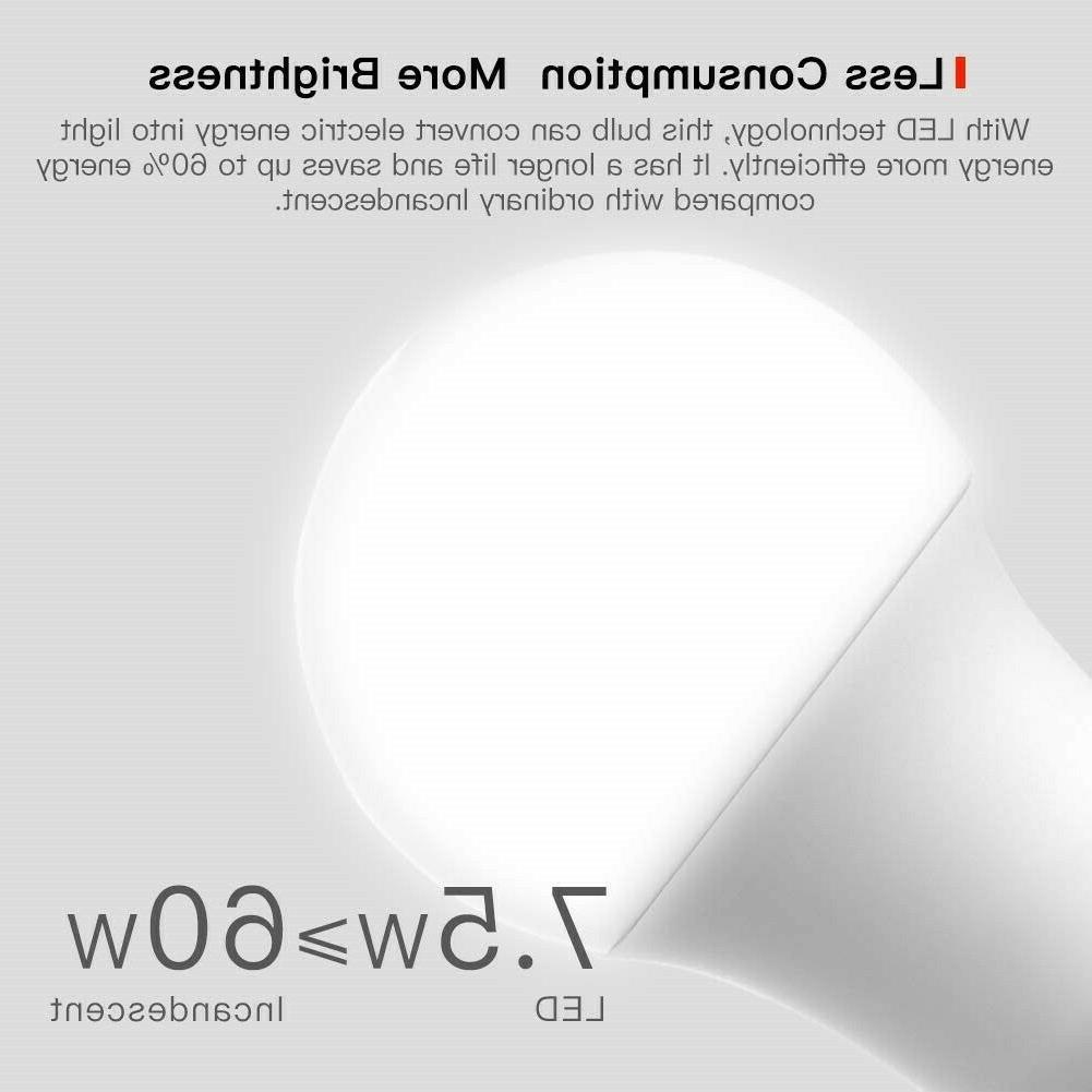 led smart bulbs 2 pack sb50 dimmable