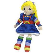 Madame Alexander, Rainbow Brite Cloth Doll, Rainbow Brite Co