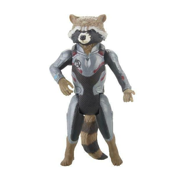 Marvel Avengers: Endgame And Rocket Characters
