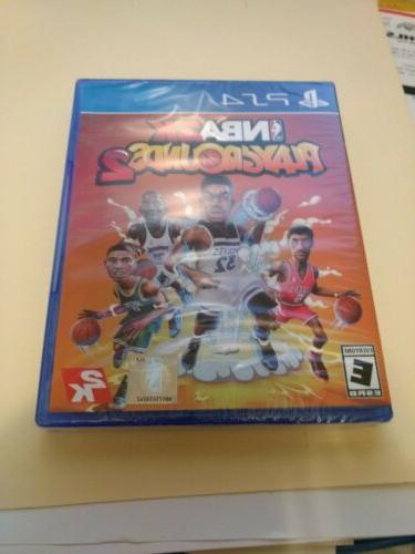 nba playgrounds 2 playstation 4 brand new