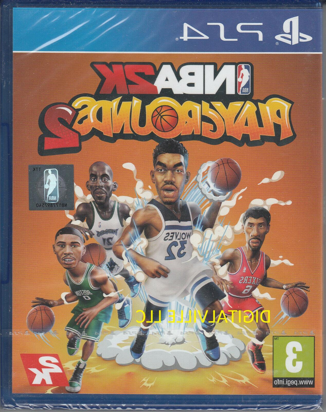 nba playgrounds 2 ps4 sony playstation 4
