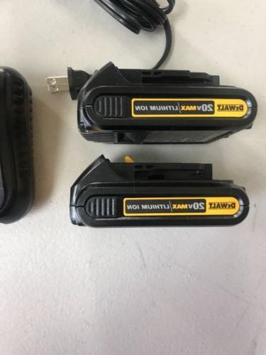 New Pack MAX Batteries 20 Battery Charger