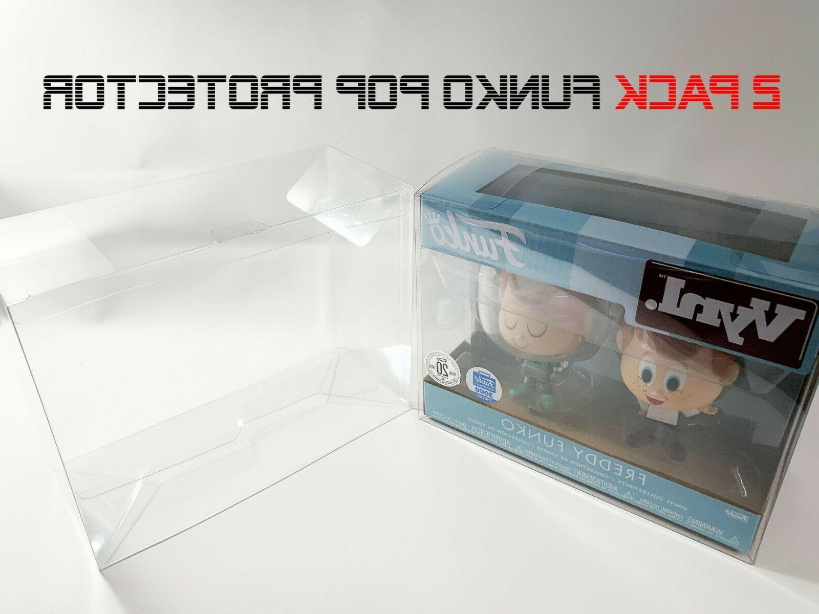 Funko Pack Protector Crystal Clear Case