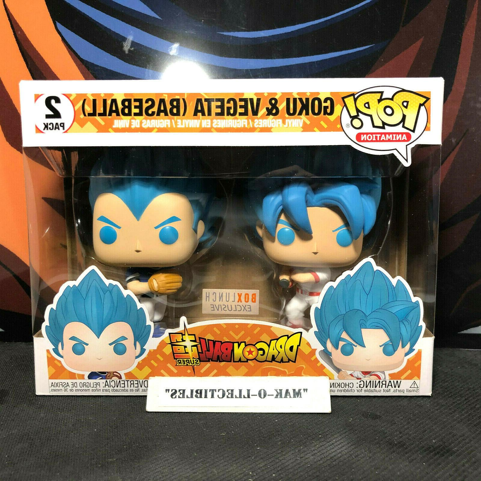 pop dragonball z goku and vegeta baseball