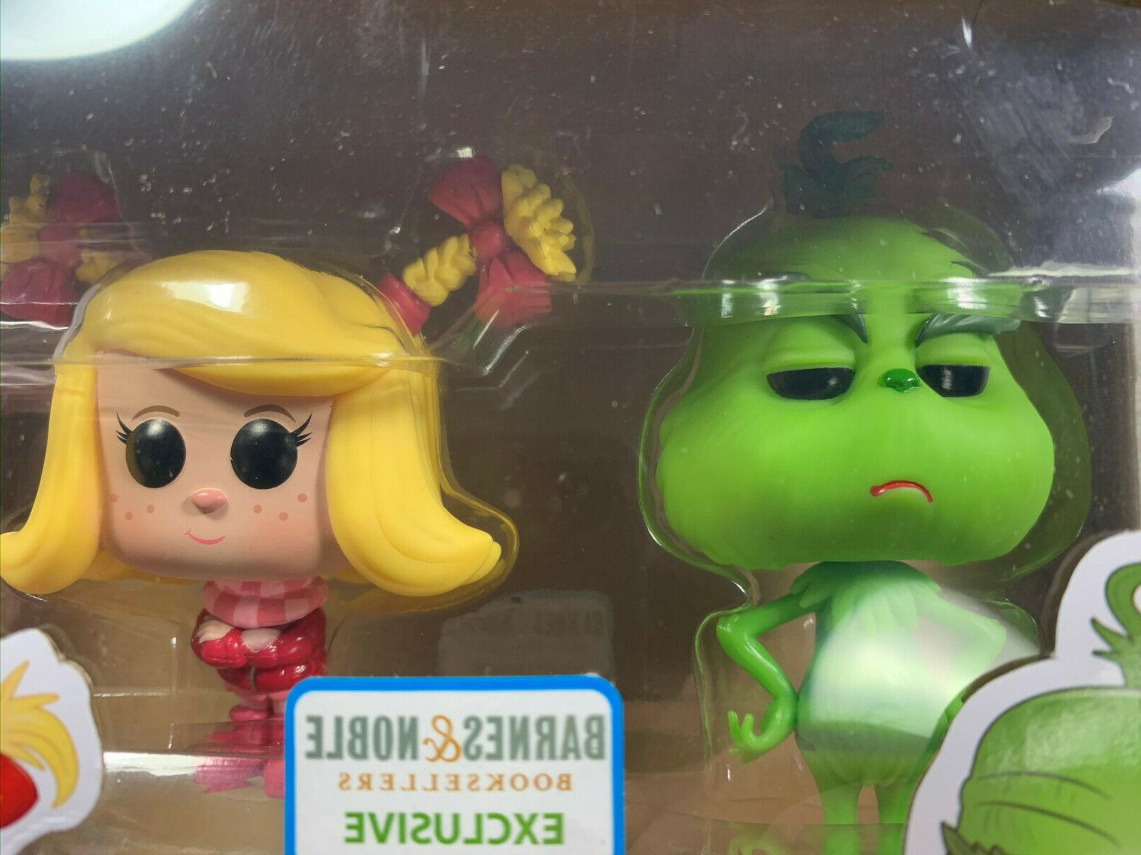 Funko Grinch Cindy-Lou 2 Pack Noble Exclusive