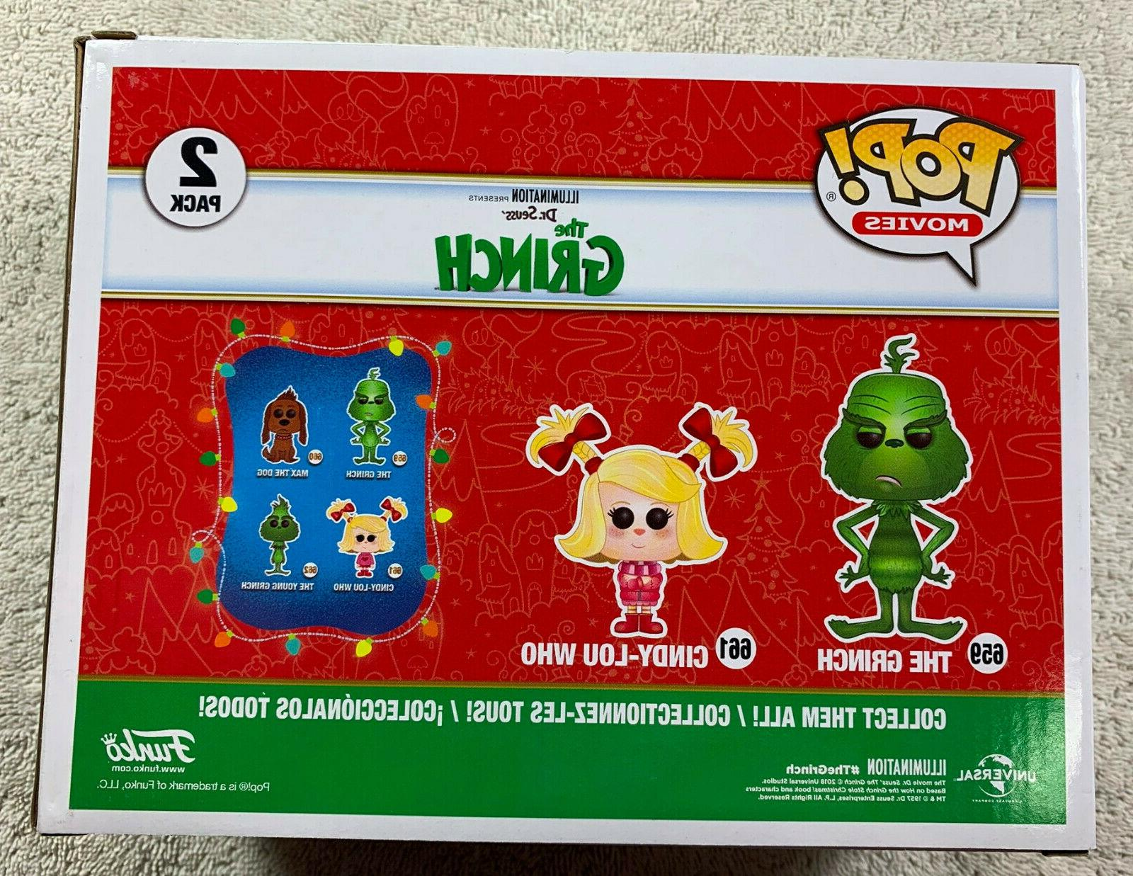 Funko The Grinch Cindy-Lou 2 Pack Barnes Noble Exclusive