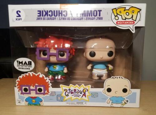 pop rugrats tommy and chuckie 2 pack