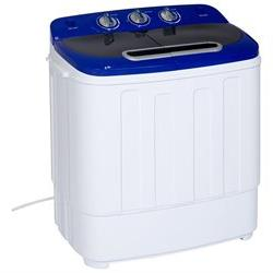 Best Choice Products Portable Compact Mini Twin Tub Washing
