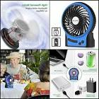 Portable Rechargeable Mini USB fan Upgrade 2200mAh Batt 3 Sp