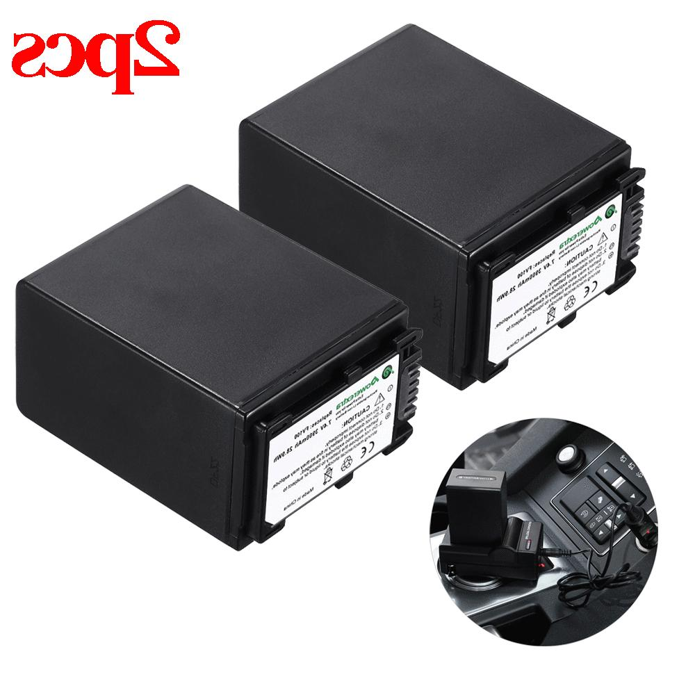 2x 7.2V 3900mAh Rechargeable Battery For SONY NP-FV100 NP-FV
