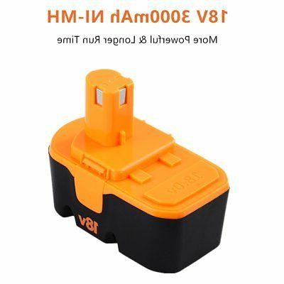 Replacemnet for Ryobi Battery ABP1801 ABP1803 P105 P101