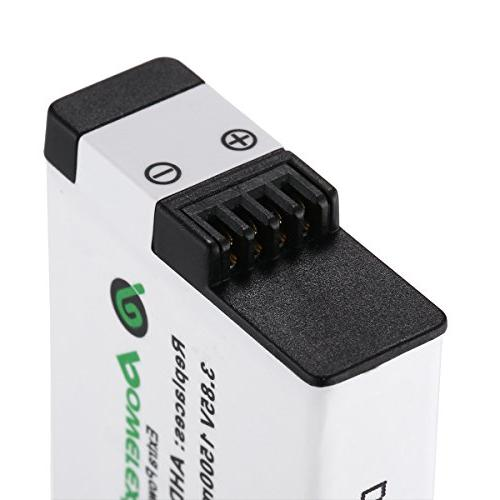 Powerextra 2X Compatible with GoPro GoPro 7 Black GoPro Hero Black, Compatible with Firmware