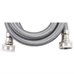 WMS4 Braided Stainless Steel Washing Machine Connector