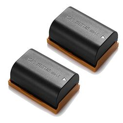 Powerextra 2 Pack 2600mAh Li-ion Battery Replacement Canon L