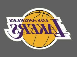 Los Angeles Lakers 2 PACK NBA Decal Sticker - You Choose Siz