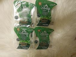 Lot of 4 Glade Enchanted Evergreens Scented Oil plug-ins 4 p