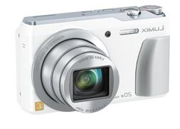 Panasonic Lumix TZ55 digital camera x20 white DMC-TZ55-K Jap