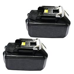 Makita 18v Battery, CREJOY™ Makita BL1840-2 LXT Lithium Io