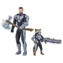 Marvel Avengers: Endgame Thor And Rocket Raccoon 2-Pack Char
