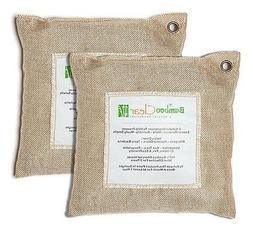 Bamboo Clear Natural Charcoal Air Purifying Bags Deodorizer