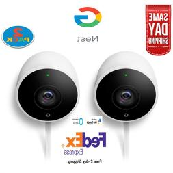 Google Nest Cam Outdoor NC2400ES Security Camera System  Wif