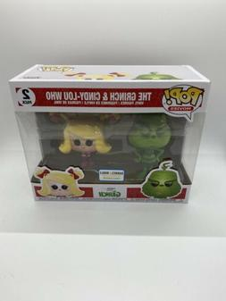 New Funko Pop Movies The Grinch & Cindy-Lou Who 2 Pack Barne