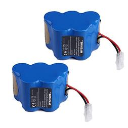 2x Masione 4.8V 3000mAh Ni-MH Replcement Battery for Euro-Pr