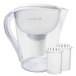 pH RESTORE Alkaline Water Pitcher Ionizer With 2 Long-Life F