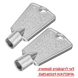 Pack Of 2 Freezer Door Key 216702900 For Frigidaire Kenmore