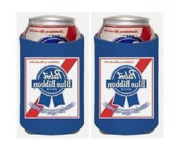 Pabst Blue Ribbon PBR 12oz Beer Can Kaddy Huggie Coolie Cool