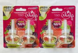 plugins scented oil berry pop refills limited