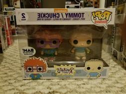 FUNKO POP 2 PACK BAM EXCLUSIVE  TOMMY AND CHUCKIE. RUGRATS.