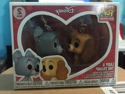 pop lady and the tramp pocket keychain