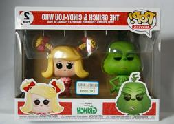 Funko Pop! Movies The Grinch and Cindy-Lou Who 2 Pack Barnes