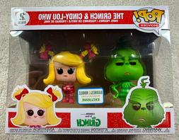 pop movies the grinch and cindy lou