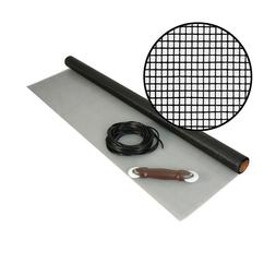 Replacement Insect Screen Wire Mesh Roll Kit Spline for Wind