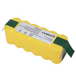 HEIOKEY 14.4v 4000mAh Replacement NiMh Battery for iRobot Ro