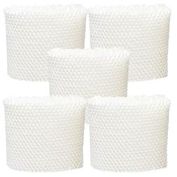 5-Pack Replacement WF2 filter for Honeywell, Vicks, Sunbeam,