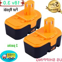 Replacemnet for Ryobi 18V Battery 3.0AH NiMh One+ ABP1801 AB