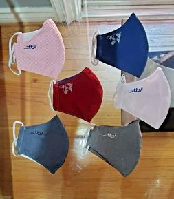 Reusable Fabric Cotton washable Face  Mask  Assorted Colors