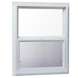 TAFCO WINDOWS Single Hung Vinyl Replacement Window With Scre