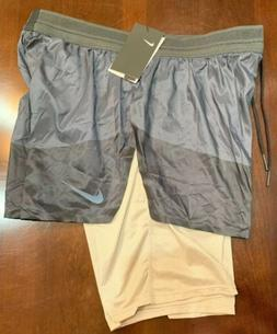 Nike Sportswear Tech Pack 2 in 1 Running Shorts Size Large A